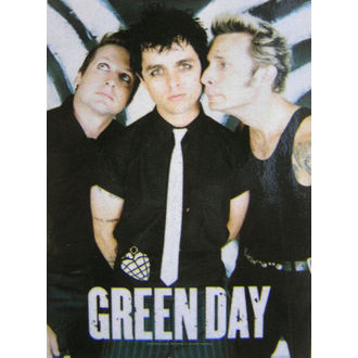 vlajka Green Day - Band Poster