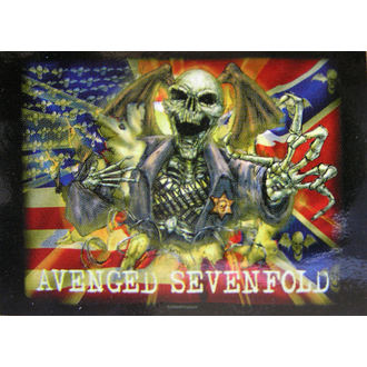 vlajka Avenged Sevenfold - Confederate - HFL0773