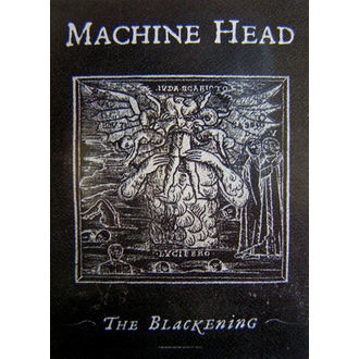 vlajka Machine Head - The Blackening, HEART ROCK, Machine Head
