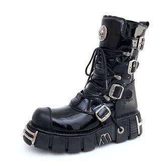 boty New rock - Bizarre Boots (313-S1) Black