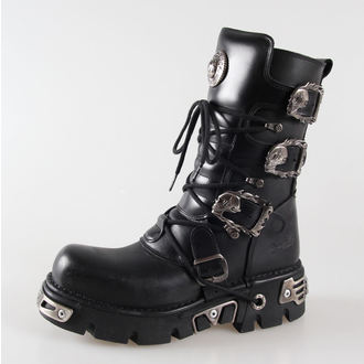 Boty New rock - Metal Boots (391-S1) Black