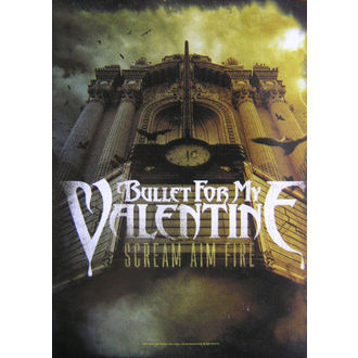 vlajka Bullet For My Valentine - Scream Aim Fire, HEART ROCK, Bullet For my Valentine