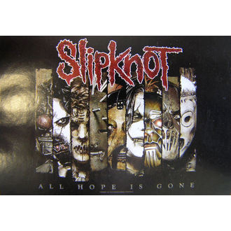 vlajka Slipknot - All Hope Is Gone, HEART ROCK, Slipknot