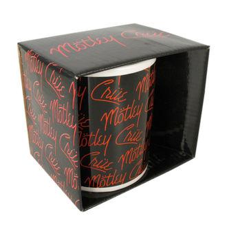 hrnek Mötley Crüe - Logos - ROCK OFF, ROCK OFF, Mötley Crüe