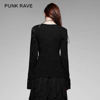 tričko dámské s dlouhým rukávem PUNK RAVE - Perfect Disorder, PUNK RAVE