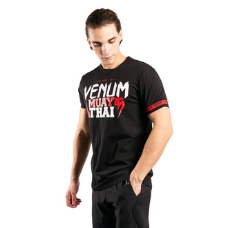tričko pánské Venum - MUAY THAI Classic 20 - Black/Red, VENUM