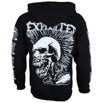 mikina pánská The Exploited 'Mohican Skull' ZH112, RAZAMATAZ, Exploited