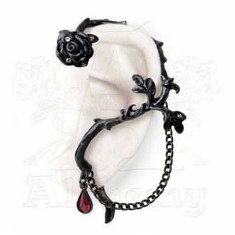 náušnice Rose of Passion (single) ALCHEMY GOTHIC