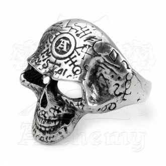 prsten Omega Skull ALCHEMY GOTHIC - R122