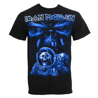 tričko pánské Iron Maiden - Blue Album Spaceman - ROCK OFF - IMTEE14MB