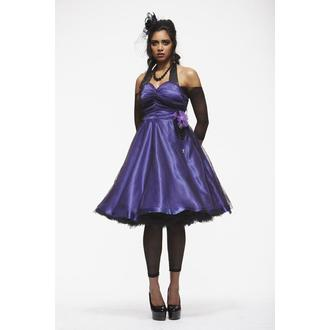 šaty dámské HELL BUNNY 'Harmony Purple', HELL BUNNY