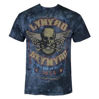 tričko pánské Lynyrd Skynyrd - Gimme Back My Bullets - LIQUID BLUE - LB11911