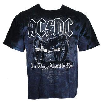 tričko pánské AC/DC - For Those About to Rock - LIQUID BLUE, LIQUID BLUE, AC-DC
