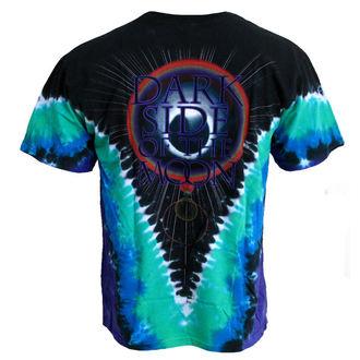 tričko pánské Pink Floyd 'Dark Side VDYE' LIQUID BLUE, LIQUID BLUE, Pink Floyd