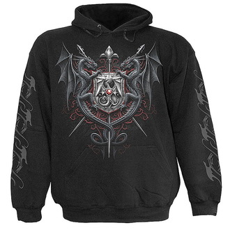 mikina pánská SPIRAL- Dragon Kingdom - Black