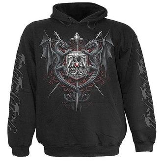 mikina pánská SPIRAL- Dragon Kingdom - Black - L006M451