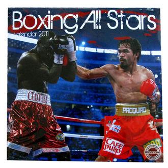 kalendář nástěnný Boxing All Stars 2011