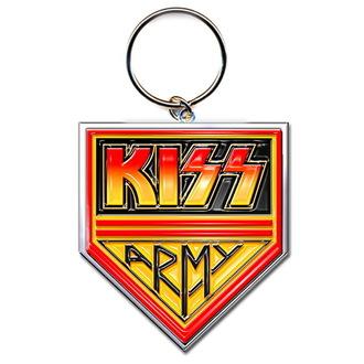 klíčenka (přívěšek) KISS - Army Pennant - ROCK OFF, ROCK OFF, Kiss