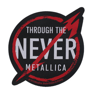 nášivka Metallica - Through The Never - RAZAMATAZ, RAZAMATAZ, Metallica