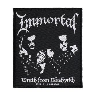 nášivka Immortal - Wrath Of Blashyrkh - RAZAMATAZ, RAZAMATAZ, Immortal
