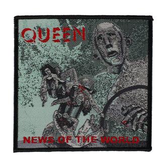 nášivka Queen - News Of The World - RAZAMATAZ, RAZAMATAZ, Queen