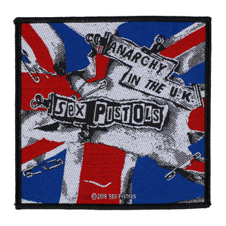 nášivka Sex Pistols - Anarchy In The U.K. - RAZAMATAZ, RAZAMATAZ, Sex Pistols