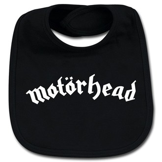 bryndák Motörhead - Logo Baby Bib - Metal-Kids, Metal-Kids, Motörhead