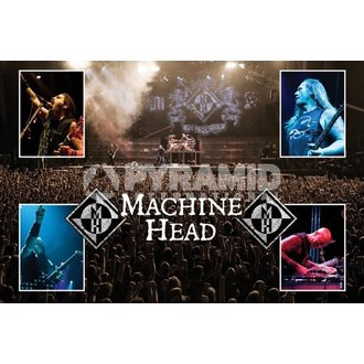 plakát Machine Head (Live) - PYRAMID POSTERS