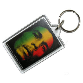 klíčenka (přívěšek) Bob Marley - Face - PYRAMID POSTERS, PYRAMID POSTERS, Bob Marley