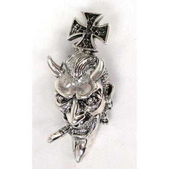 přívěšek stříbrný Devil - BR 2
