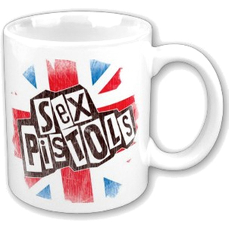 hrnek Sex Pistols - Logo Flag Fridge Boxed Mug - ROCK OFF - SPMUG02