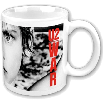 hrnek U2 - War Boxed Mug - ROCK OFF, ROCK OFF, U2