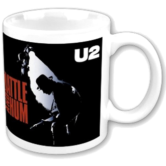 hrnek U2 - Rattle and Hum boxed Mug - ROCK OFF, ROCK OFF, U2