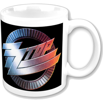 hrnek ZZ Top - ZZ Top Logo Mug - ROCK OFF, ROCK OFF, ZZ-Top