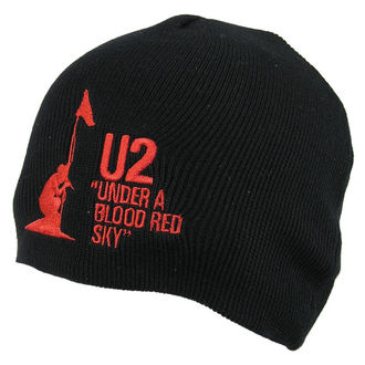 kulich U2 - U2 Beanie Hat Under A Blood Red Sky - ROCK OFF, ROCK OFF, U2