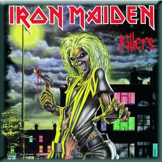 magnet Iron Maiden - Killers Fridge Magnet - ROCK OFF