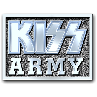 připínaček Kiss - Army Block pin badge - ROCK OFF, ROCK OFF, Kiss