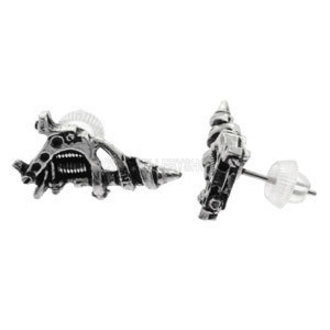 náušnice Tattoo Gun Earrings (pair) - ALCHEMY GOTHIC