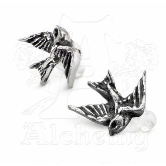 náušnice Swallow studs (pair) - ALCHEMY GOTHIC - ULFE4