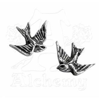 náušnice Swallow studs (pair) - ALCHEMY GOTHIC
