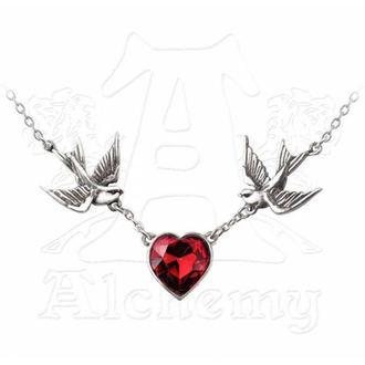 obojek Swallow Heart Pendant - ALCHEMY GOTHIC - ULFP1
