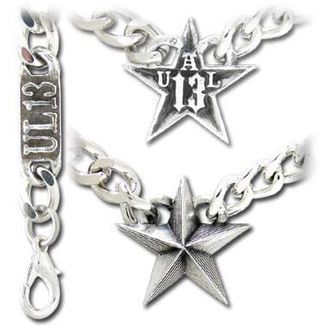 obojek Nautical Star Cuban Pendant - ALCHEMY GOTHIC - ULP12