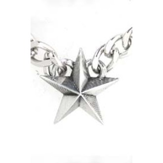 obojek Nautical Star Cuban Pendant - ALCHEMY GOTHIC, ALCHEMY GOTHIC