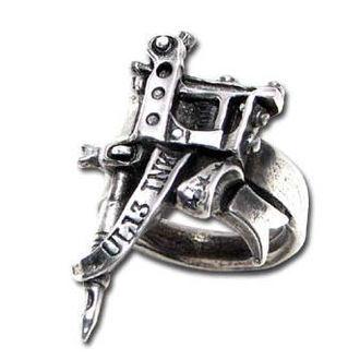 prsten needle Gun - ALCHEMY GOTHIC
