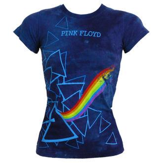 tričko dámské Pink Floyd - Prism Longer Length - LIQUID BLUE - 13974