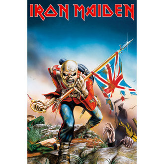 plakát - Iron Maiden - Trooper - GB posters