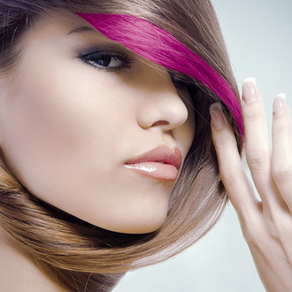 barva (řasenka) na vlasy STAR GAZER - Magenta