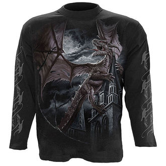 tričko pánské s dlouhým rukávem SPIRAL - Dragon Kingdom - L006M301