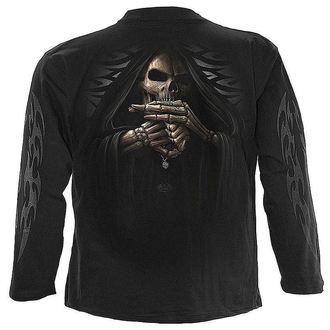 tričko pánské s dlouhým rukávem SPIRAL - Bone Finger - M005M301