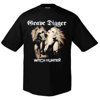 tričko pánské Grave Digger - Witchhunter Retro - ART-WORX, ART WORX, Grave Digger